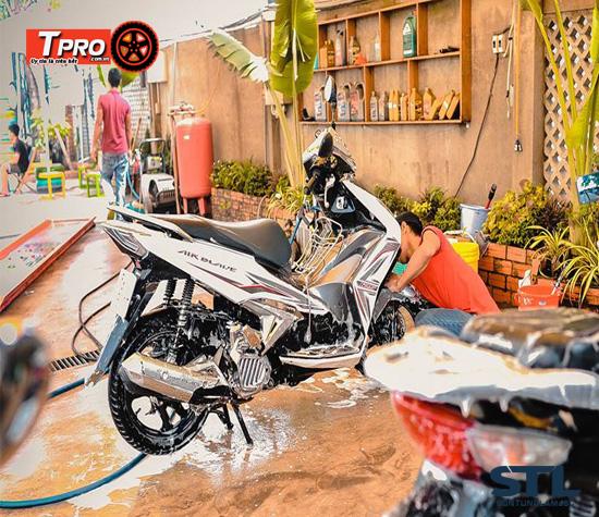 tiệm rửa xe máy tại hồ chí minh