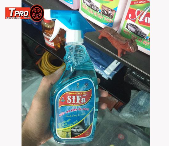 nước rửa kính Sifa 650ml
