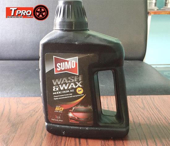 nước rửa xe Sumo mới