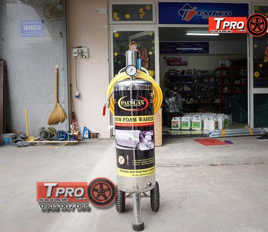 binh rua xe bot tuyet pallas 16 lit