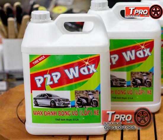 dung dich danh bong lop xe p2p wax 2