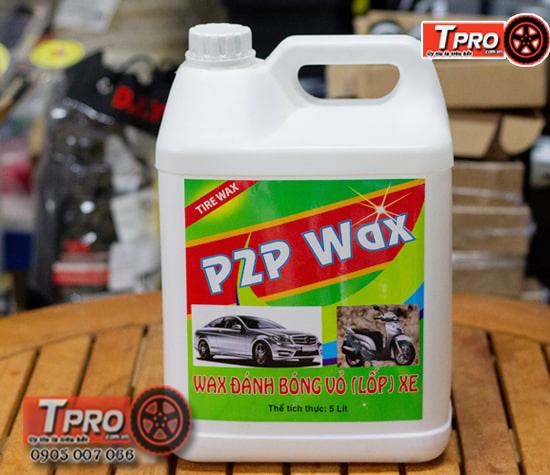 dung dich danh bong lop xe p2p wax