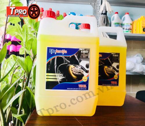 dung dịch vệ sinh nội thất texil 5l