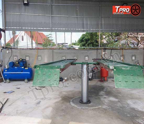 cấu tạo cầu nâng 1 trụ tpro