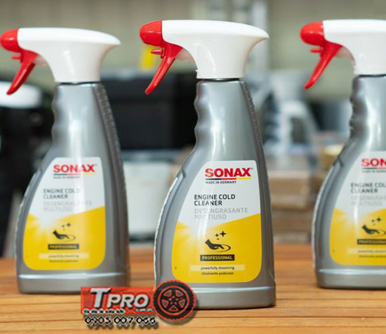 dung dich lam sach khoang dong co Sonax engine cold cleaner 500ml 2