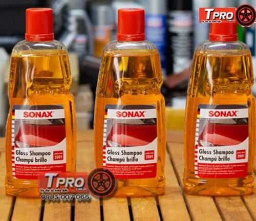 dung dich rua xe sonax gloss shampoo 2