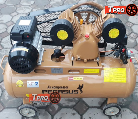 may nen khi day dai pegasus 5 5hp 3 pha tm v 0 6 8 230l