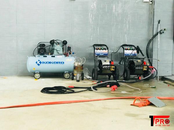 Máy rửa xe cao áp giúp việc rửa xe nhanh hơn