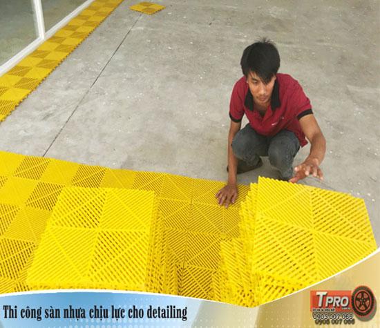 luu y khi thi cong san nhua chiu luc cho detailing tpro