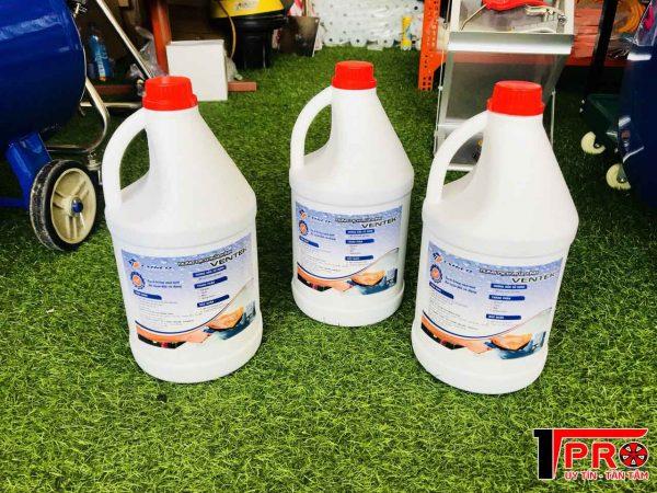 Dung dịch vệ sinh kính ô tô ventek 3.5L